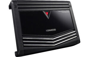 Kenwood mono subwoofer amplifier 500w at 2 ohms