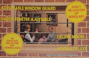 Window Security Bars – Un-used (3 sets)
