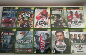 XBOX Games with The Sims 2