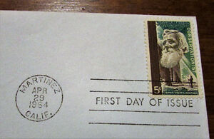 1964 John Muir American Naturalist 5 Cent First Day Cover Kitchener / Waterloo Kitchener Area image 3