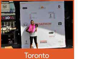CUSTOM BANNERS/BACKDROP PACKAGE/STEP&REPEAT-LOWEST PRICE Stratford Kitchener Area image 6