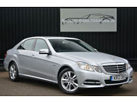 2012 Mercedes E Class E220 CDI Diesel Executive SE Manual *VAT Qualifying*