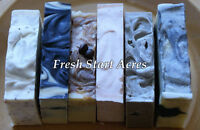 Goat's Milk and All-Natural (non-milk) Soap Collections