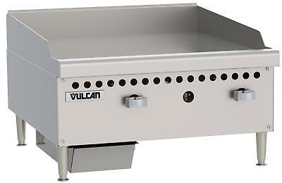 Vulcan Vcrg24-m Medium Duty 24 Manual Control Gas Griddle