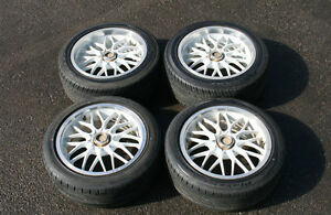 "JDM 17"" SIENA ROAD BALTER RIMS & TIRES (Staggered) 5x114.3"