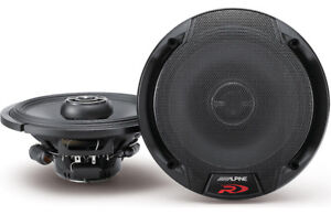 Alpine Type R 6-1/2 2-Way Component Car Speakers-NEW IN BOX