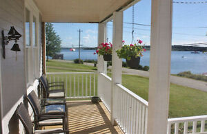 Two Oceanfront Homes  at Indian Point, Mahone Bay