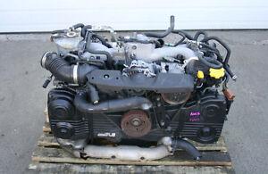JDM SUBARU IMPREZA WRX EJ205 AVCS LONGBLOCK ENGINE (02-05)