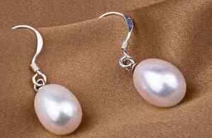 Boucles d'oreille en perles d'eau douce