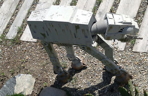 Star Wars Imperial Walker 1997 Weathered look - Everything Works