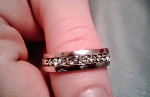Brand new 18K gold plated  stainless steel ring