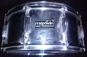 MAXWIN (PEARL) 6X14 SMOOTH SHELL CHROME SNARE DRUM