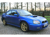2005 SUBARA IMPREZA 2.0 WRX TURBO 4DR AWD PETROL MANUAL SALOON FSH