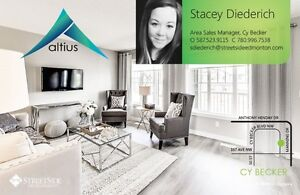 4% off quick possession homes - Altius Townhomes Cy Becker