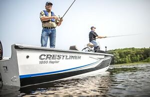 2016 Crestliner 1850 Raptor SC Boat Package