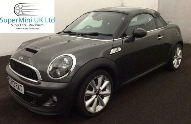 Mini Coupe Cooper S Chili Pack Eclipse Grey Manual Petrol 2012