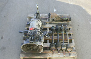 JDM SUBARU STI (V-7) 6-Speed Tranny (Ty856wb1ca), Axles & Diff