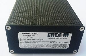 Encom Model 5200 Wireless Serial Modem 900 MHz Traffic Control Kitchener / Waterloo Kitchener Area image 2