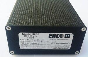 Encom Model 5200 Wireless Serial Modem 900 MHz Traffic Control Kitchener / Waterloo Kitchener Area image 2