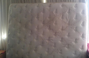 King size mattress good condition $75