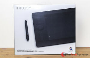 Wacom Intuos Pro Pen and Touch Tablet, Medium (PTH651)