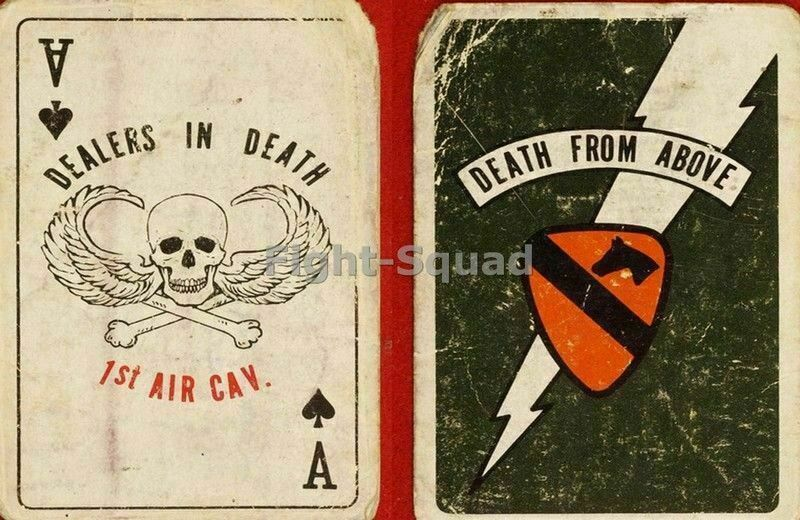 Vietnam War Picture Photo Kill Card Death From Above 2342
