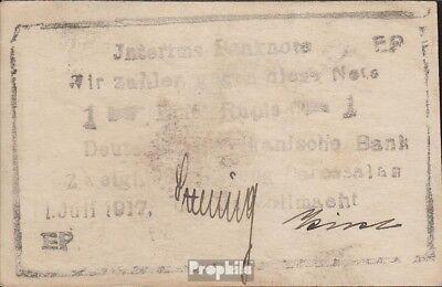 Deutsch-Ostafrika Rosenbg: 936b Serie: EP, Druck schwarz gebraucht (III) 1917 1