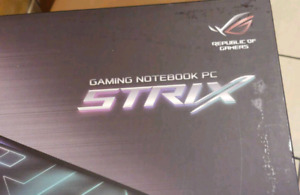 Rog gaming laptop strix GL753VE