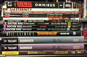 Graphic novels and trades