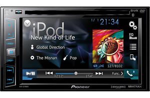 """Pioneer 6.2"""" MP3/CD Double DIN Car Multimedia System + Bluetooth"""