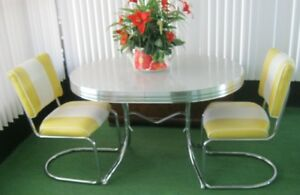 Wanting CHROME table and chairs