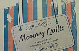 MEMORY QUILTS - one-of-a-kind keepsake quilts!!!