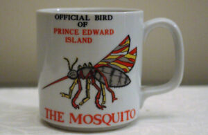 OFFICIAL BIRD OF PEI:  THE MOSQUITO MUG