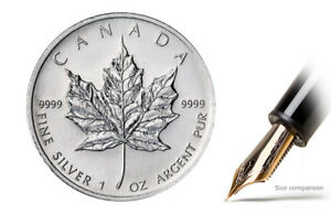 Buy 1 oz Canadian Silver Maple Leaf Coins 2017