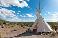 Looking for a Spot to set our Tipi