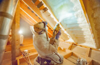 Spray foam insulation Commercial - Residential Spring special.