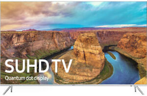 "Samsung UN55KS8000 55"" Smart LED 4K Ultra HD TV with HDR"