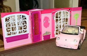 SUPERBE Maison BARBIE Luxueuse Poupée Meubles Auto Access