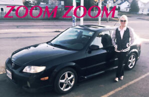 2002 Mazda Protege 1200 as is