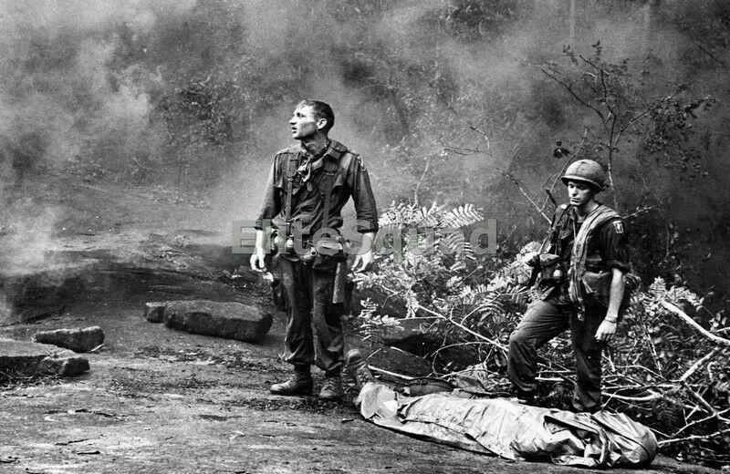 Vietnam War Photo Died Soldier in combat of 173rd. Airborne Brigade 528