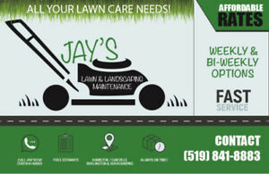 NEED YARD CLEANUP? GARDEN WORK? DE-WEED? MULCH? CALL JAY!