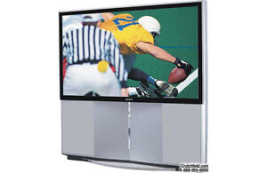 "Sony 57"" widescreen HDTV-ready projection TV"