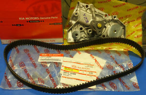 KIA Genuine Timing Belt & Water Pump