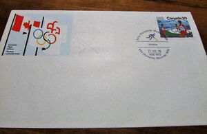 XXI Olympiad Montreal 1976 Souvenir 25 Issue Covers Kitchener / Waterloo Kitchener Area image 3