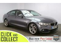 2016 16 BMW 4 SERIES GRAN COUPE 2.0 420D SPORT GRAN COUPE 4DR 1 OWNER AUTO