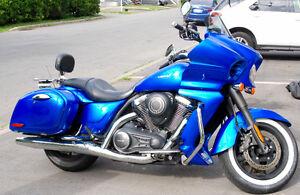 """Kawasaki Vulcan Vaquero """"Candy Blue"""" 2012"""