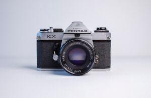 Pentax KX + Objectif SMC Pentax 55mm F1.8