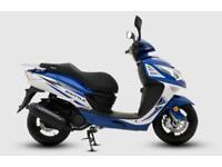 SINNIS SHUTTLE 125CC EURO 4 SCOOTER, BRAND NEW, IN STOCK READY TO RIDE AWAY