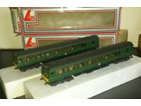 LIMA CLASS 117 DRIVING POWER OR DUMMY CAR SEATING ONLY GREEN PARTITIONS No.2