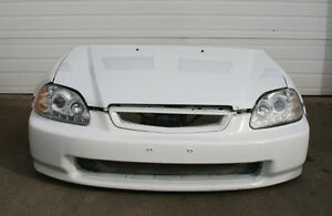 HONDA CIVIC SI FRONT END NOSECUT (Led Projector Headlight) 96-98